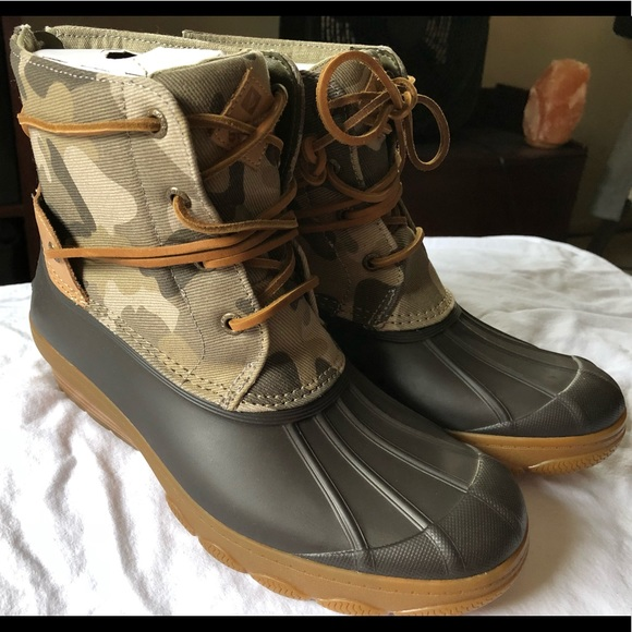 Sperry Shoes | Sperry Duck Boot Camo